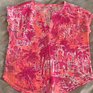 Lily Pulitzer short sleeve top